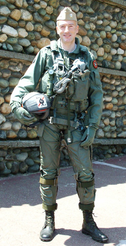 Navy pilot uniform