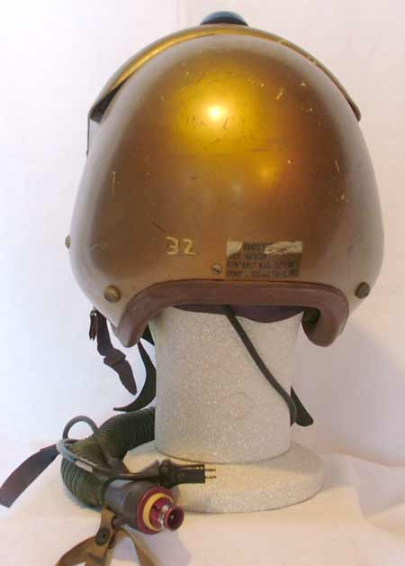 f49abc8e0a0 US Navy APH-5 (early version) flight helmet with MS22001 oxygen mask. (1957)