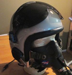 nasa pilot helmet - photo #10