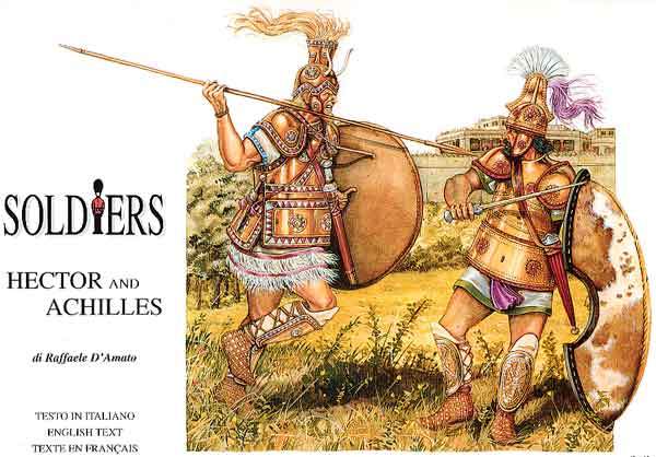 Achilles and Hector  duel among Warlords 1250-1210 BC Hypothetical