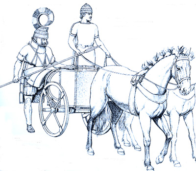 The Greek Age of Bronze - Chariots