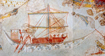 The Greek Age Of Bronze Ships