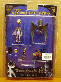 Nightmare Before Christmas 3D Figure 3D Cadre Jack Sally Tim Burton Citrouille NBC