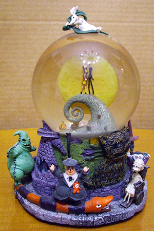snowglobes nightmare before christmas snowglobe - Nightmare Before Christmas Snow Globes