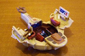 Mini playsets vaisseaux et figurines. Playset09b
